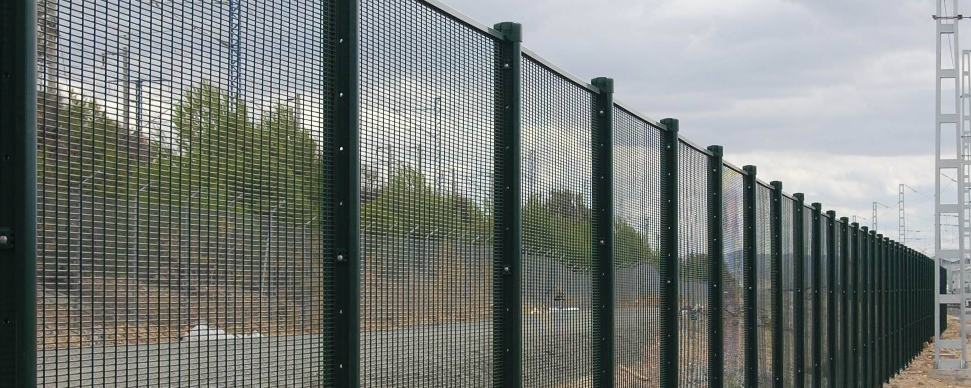 358 Mesh Fence - High Security Welded Panel Fencing Barrier