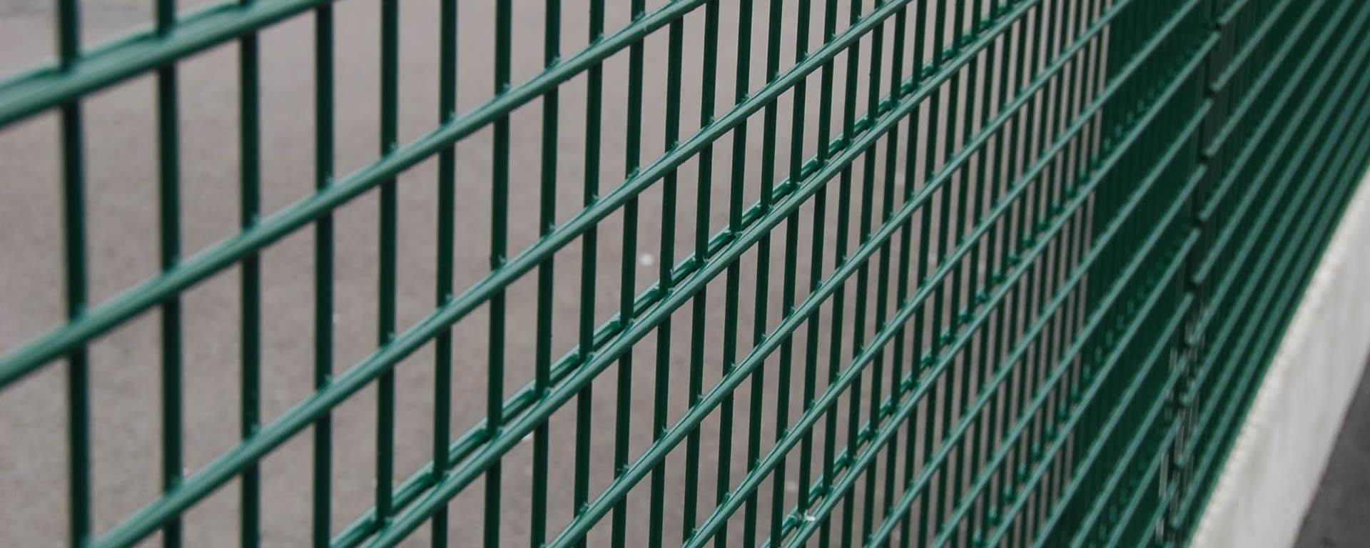 Mesh fence high security welded panel fencing barrier