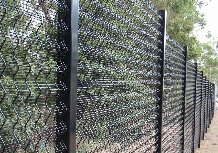 3D Security Welded Anti-Climb Fence for Secure Perimeter Protection