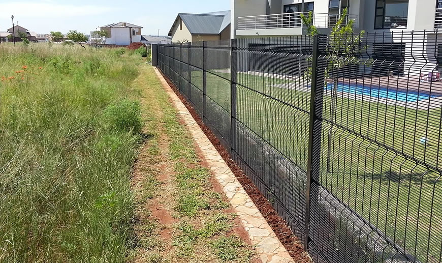 Clear View Fence Anti Climb And Anti Cut Welded Security