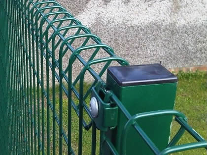 Roll Top Fence Safety Fencing For School And Playground