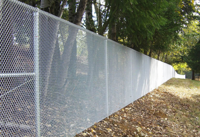 Mini Mesh Chain Link Fence High Security Defense Fencing