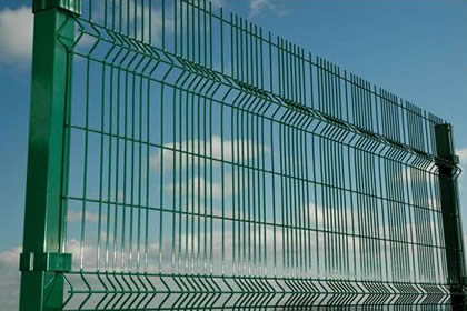 Paladin mesh fencing with mesh opening 20 mm × 200 mm / 43.7 mm × 200 mm