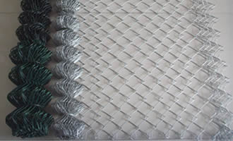 PVC and galvanized rolls and expanded view