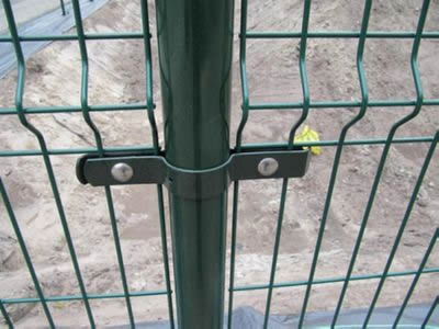 Mesh Fencing Clips Round Post And Clips Fix Mesh